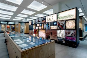 Audio visual fitout in museum